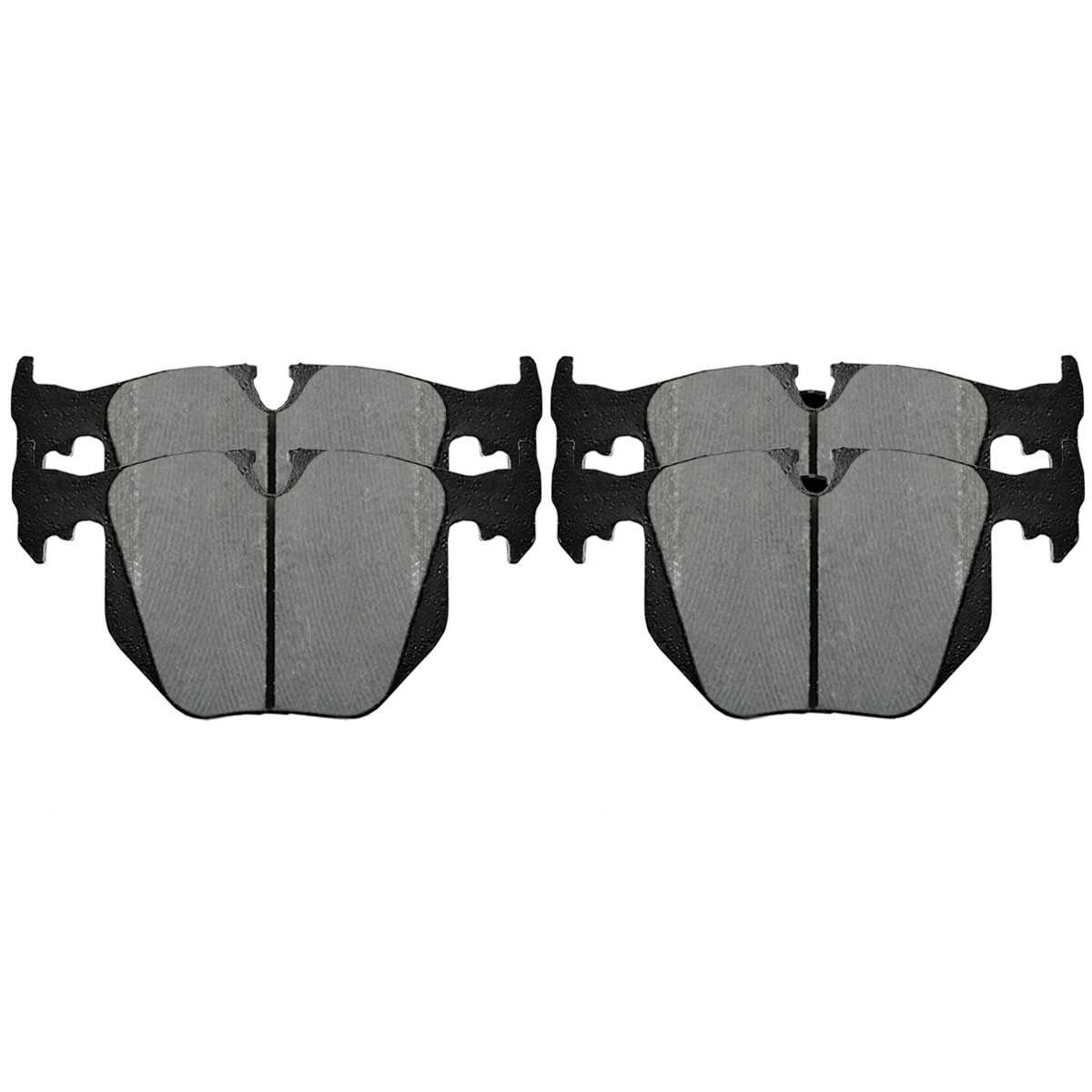 Auto Shack SMK1294 Front Semi Metallic Brake Pads