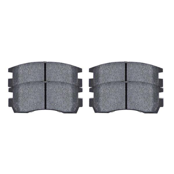 Rear Performance Ceramic Brake Pad Set 4 Wheel Disc - Part # PCD698