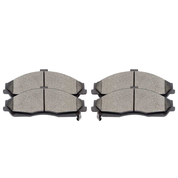 Front Performance Ceramic Brake Pad Set - Part # PCD731