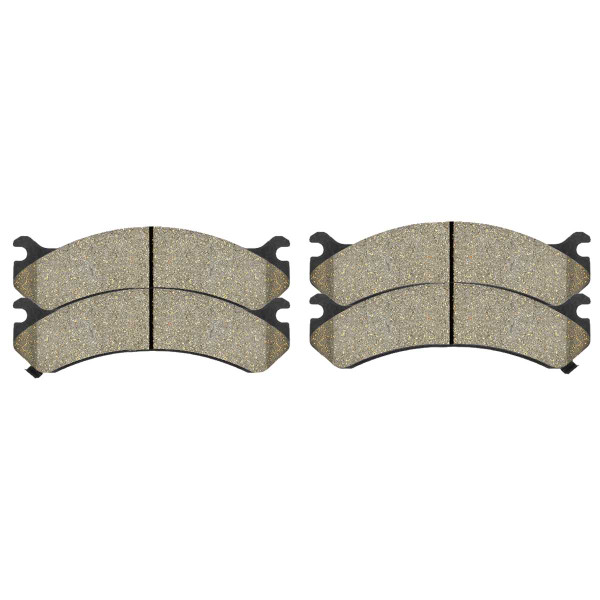 Front Performance Ceramic Brake Pad Set - Part # PCD784
