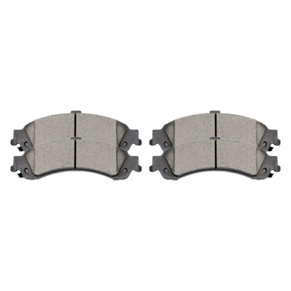 Rear Performance Ceramic Disc Brake Pad Kit, Driver and Passenger Side - Part # PCD834