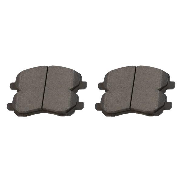 Front Performance Ceramic Brake Pad Set - Part # PCD866