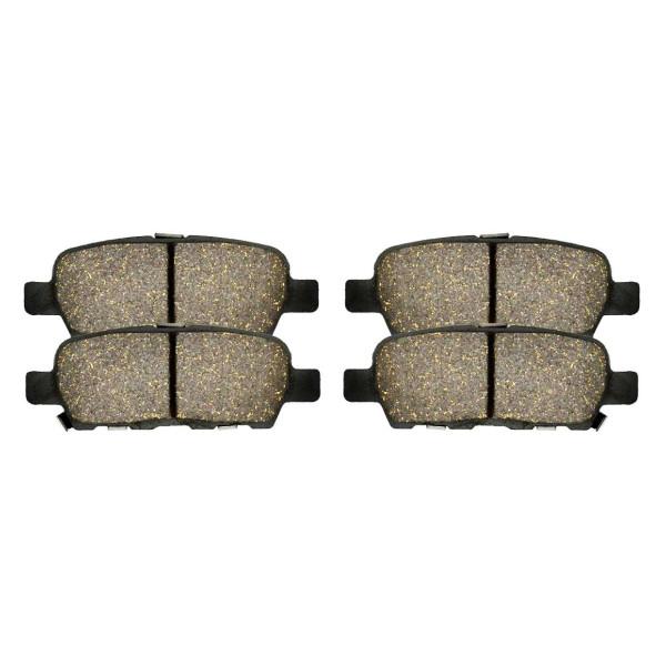 Rear Performance Ceramic Brake Pad Set 4 Wheel Disc - Part # PCD905