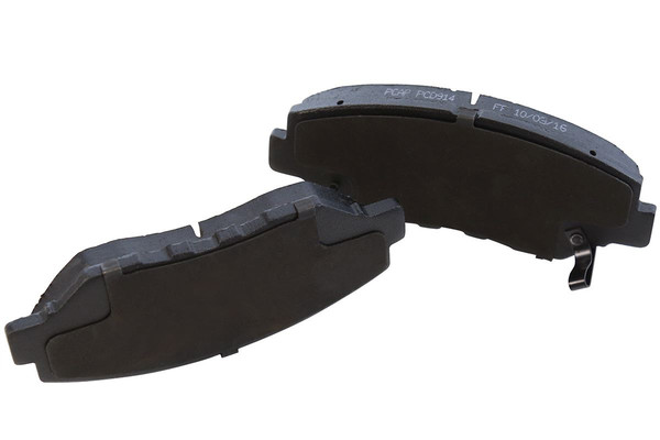 [Front & Rear Set] 4 Brake Rotors & 2 Sets Perforamnce Ceramic Brake Pads - Part # PCD9146738