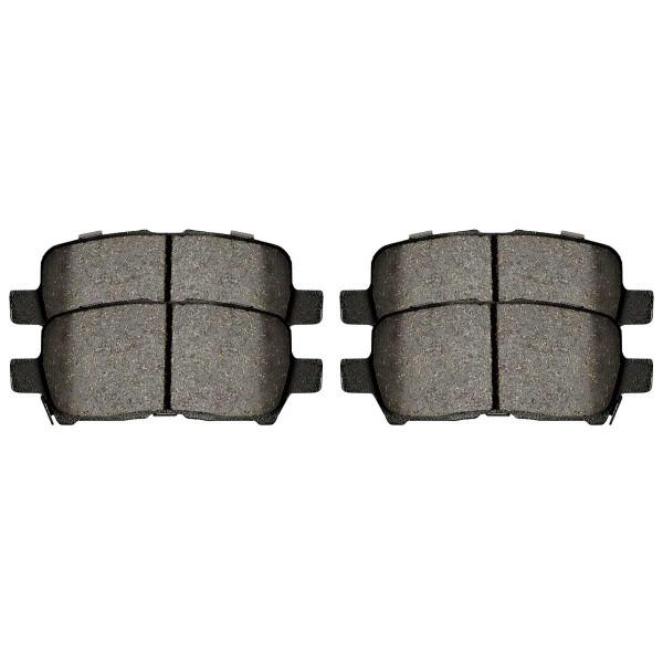 Rear Performance Ceramic Brake Pad Set - Part # PCD999