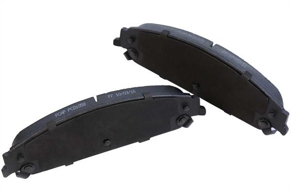 [Set] 2 Brake Rotors & 1 Set Performance Ceramic Brake Pads - Part # PCDR10586302563025