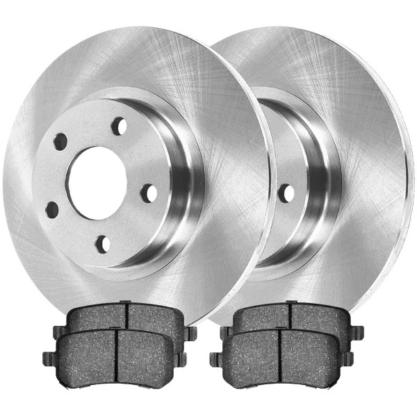 Rear Performance Brake Pad and Rotor Bundle 12 Inch Rotor Diameter - Part # PCDR13266305263052