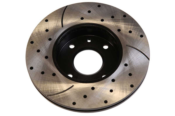 New Front Drilled Slotted Brake Rotors and Performance Pads - Part # PERF41123485