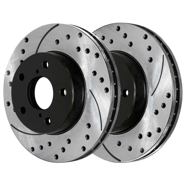 Front Performance Brake Rotor Pair - Part # PR41052LR