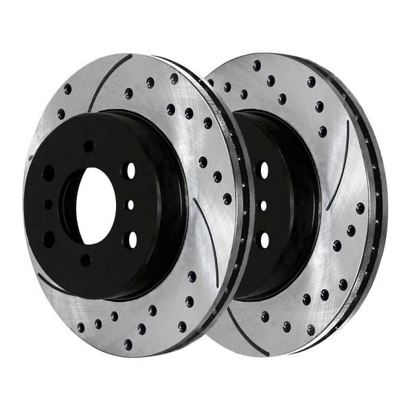 Front Performance Brake Rotor Pair 10 15/64 Inch Diameter - Part # PR41245LR