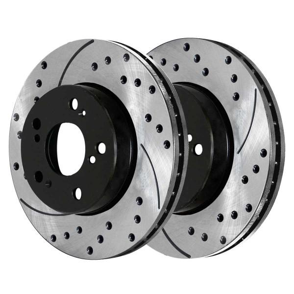 Front Performance Brake Rotor Pair 11.1 Inch Diameter - Part # PR41259LR