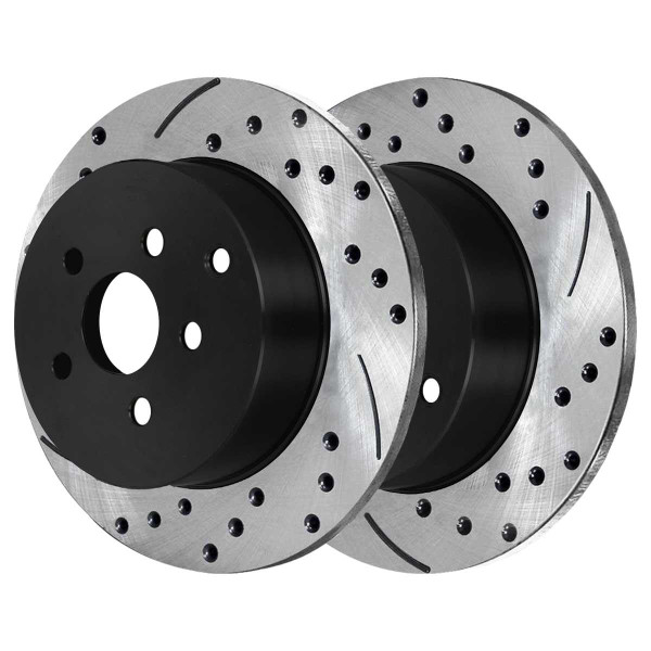 Rear Performance Brake Rotor Pair - Part # PR41271LR
