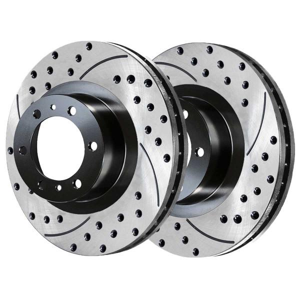 Front Performance Brake Rotor Pair 12.5 Inch Diameter 6 Stud - Part # PR41329LR