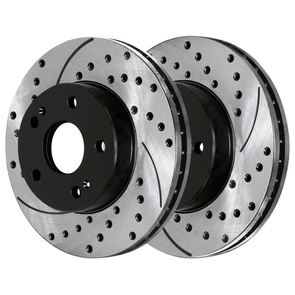 Front Performance Brake Rotor Pair 11.02 Inch Diameter 5 Stud - Part # PR41339LR