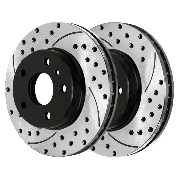 Front Performance Brake Rotor Pair - Part # PR41377LR