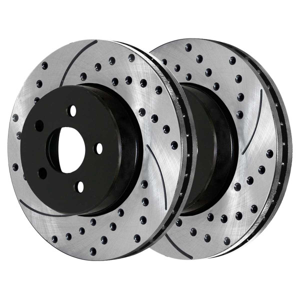Front Performance Brake Rotor Pair - Part # PR41391LR