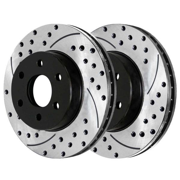 Front Performance Brake Rotor Pair 11.65 Inch Diameter - Part # PR41414PR