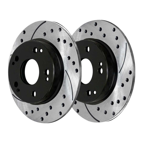 Rear Performance Brake Rotor Pair - Part # PR41422LR