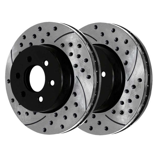 Front Performance Brake Rotor Pair 12.60 Inch Diameter - Part # PR41427LR