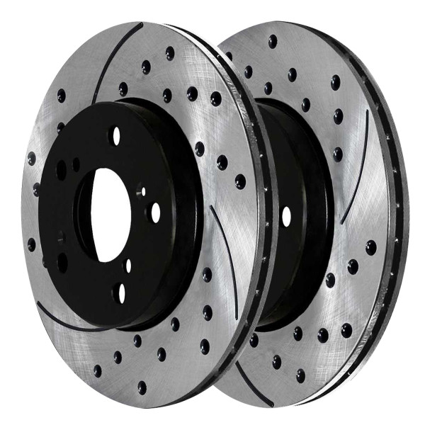 Front Performance Brake Rotor Pair - Part # PR41457LR