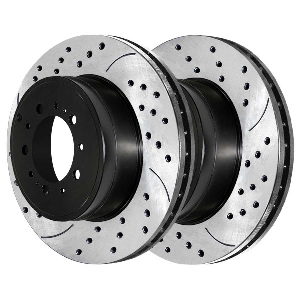 Rear Performance Brake Rotor Pair - Part # PR41485LR