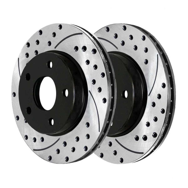 Front Performance Brake Rotor Pair - Part # PR41514LR