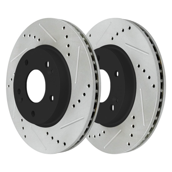 Front Performance Brake Rotor Pair 280mm Diameter - Part # PR41586LR