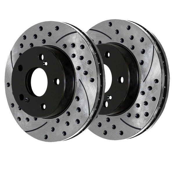 Front Performance Brake Rotor Pair - Part # PR4298LR