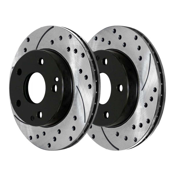 Front Performance Brake Rotor Pair - Part # PR44103LR