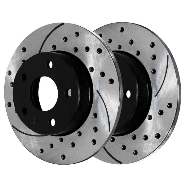 Rear Performance Brake Rotor Pair 232mm Diameter - Part # PR44146LR
