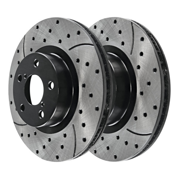 Front Performance Brake Rotor Pair 11.54 Inch Diameter - Part # PR44205LR