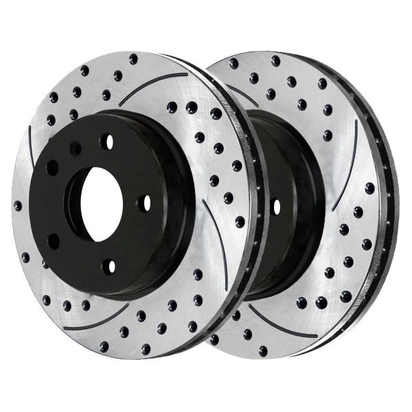 Rear Performance Brake Rotor Pair 294mm Diameter - Part # PR44222LR