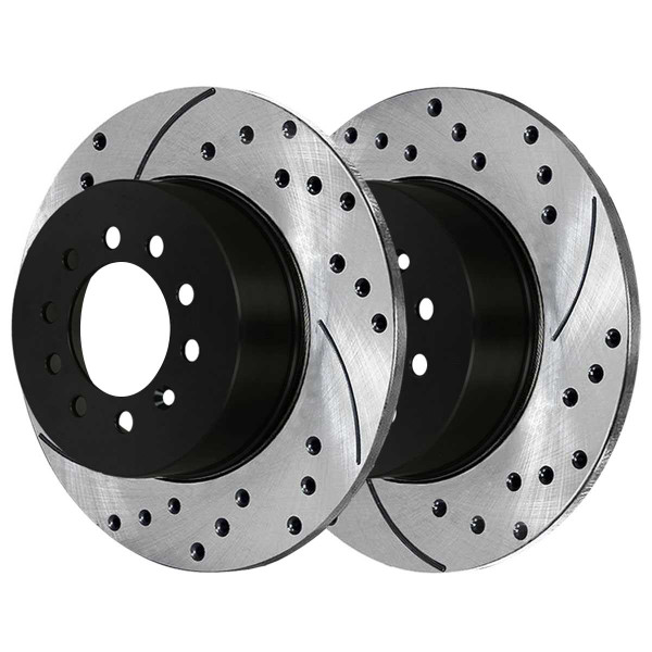 Rear Performance Brake Rotor Pair 286mm Diameter - Part # PR44401LR