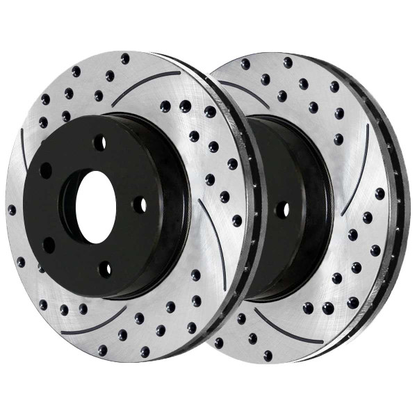 Front Performance Brake Rotor Pair 12.60 Inch Diameter - Part # PR63024LR