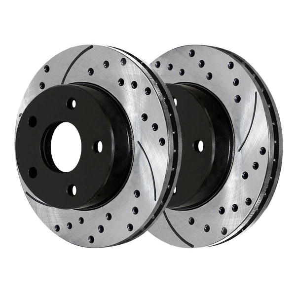 Front Performance Brake Rotor Pair 11.89 Inch Diameter - Part # PR63053LR