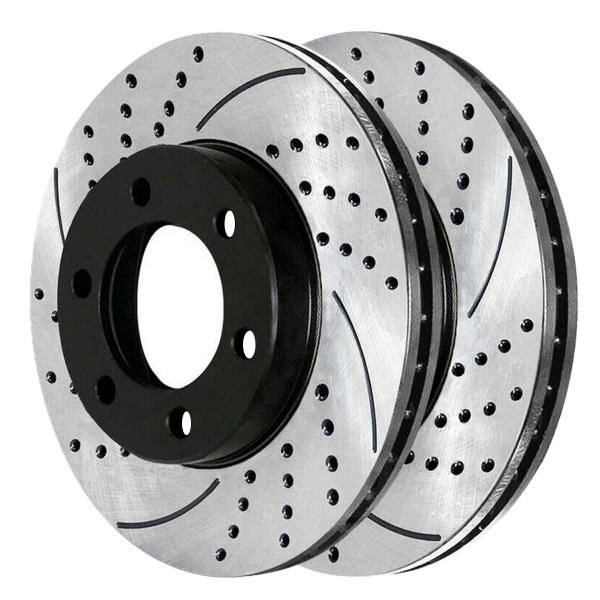 Front Performance Brake Rotor Pair - Part # PR6384LR