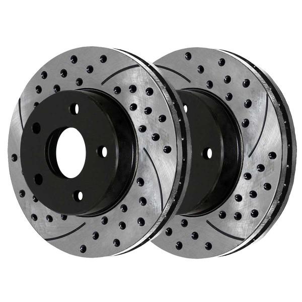 Front Performance Brake Rotor Pair - Part # PR6401LR