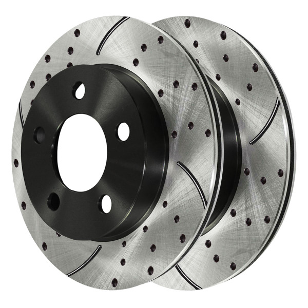 Front Performance Brake Rotor Pair 5 Stud 4WD - Part # PR64044LR