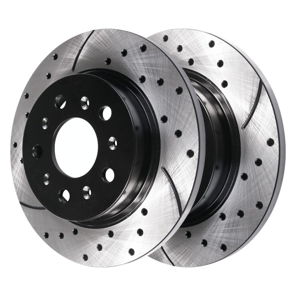 Rear Performance Brake Rotor Pair 13 Inch Diameter - Part # PR64127LR
