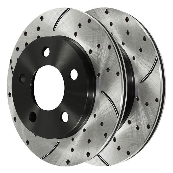 Front Performance Brake Rotor Pair - Part # PR64132LR