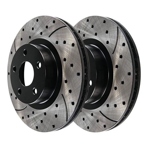 Front Performance Brake Rotor Pair 12.60 Inch Diameter - Part # PR64156LR