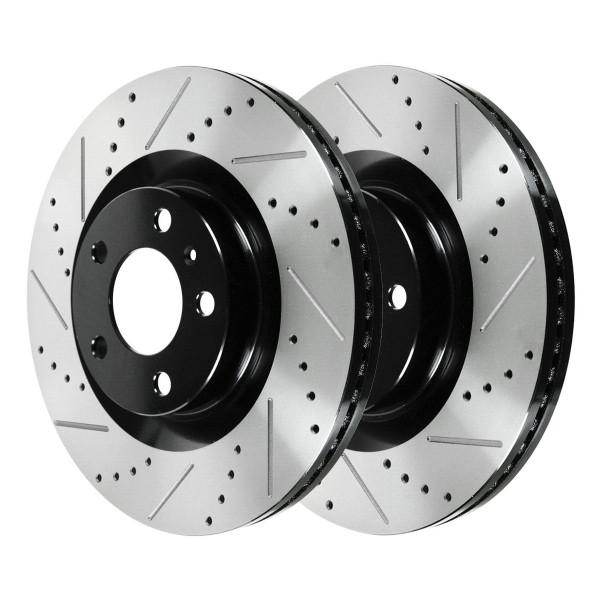 Front Performance Brake Rotor Pair 12.80 Inch Diameter - Part # PR64168LR