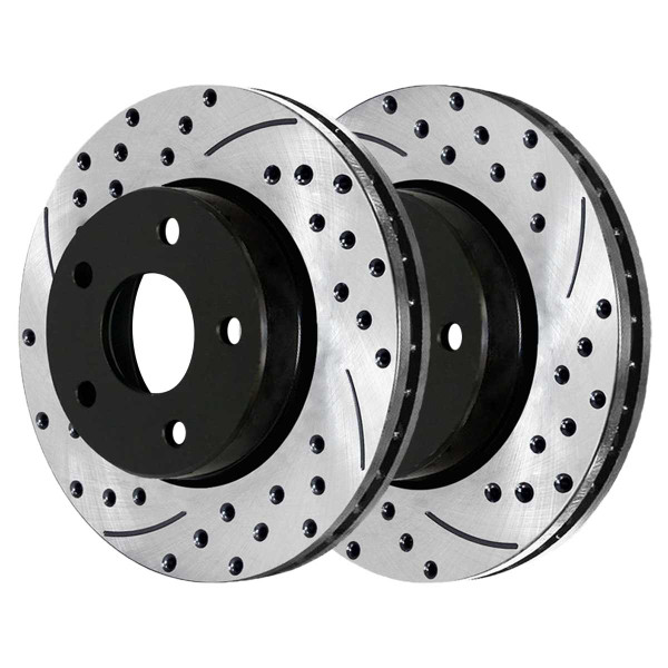 Front and Rear Performance Brake Rotor Bundle - Part # PR65036-65052PR