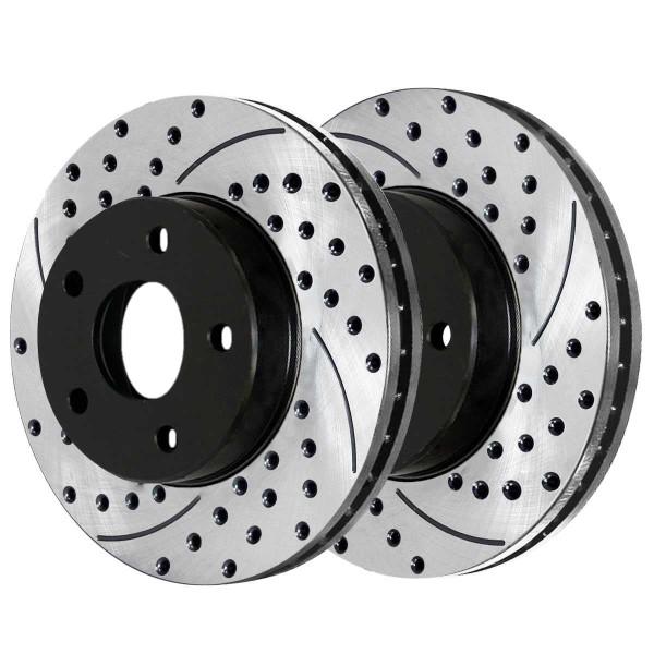 Front Performance Brake Rotor Pair 11.92 Inch Diameter 5 Stud - Part # PR65036LR