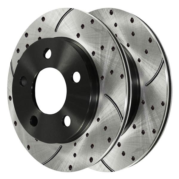 Front Performance Brake Rotor Pair 10.94 Inch Diameter - Part # PR65042LR