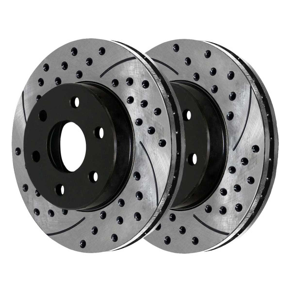 Front Performance Brake Rotor Pair - Part # PR65056LR