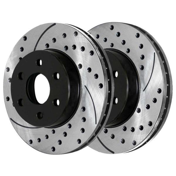 Rear Performance Brake Rotor Pair 325mm Diameter 85mm Height 6 Stud - Part # PR65068LR