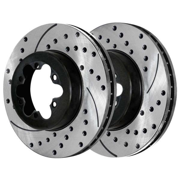 Front Performance Brake Rotor Pair - Part # PR65092LR