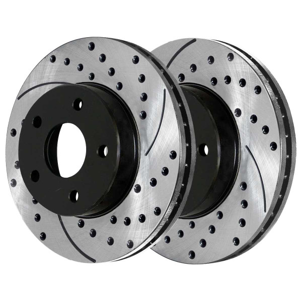 Front Performance Brake Rotor Pair 296mm Diameter - Part # PR65095LR