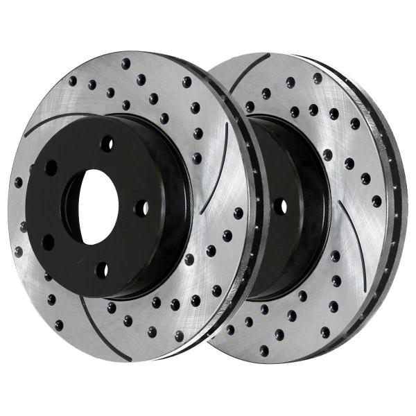 Front Performance Brake Rotor Pair 276mm Diameter - Part # PR65097LR